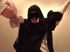 M as a Nun, Stripped, Whipped and Orgasmed 1