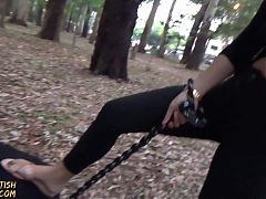 PUBLIC HUMILIATION DIRTY FEET AND PONYPLAY GIRLSFETISHBRAZIL