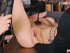 FORBONDAGE - Crazy BDSM Sex With Sexy Teen Helena Valentine